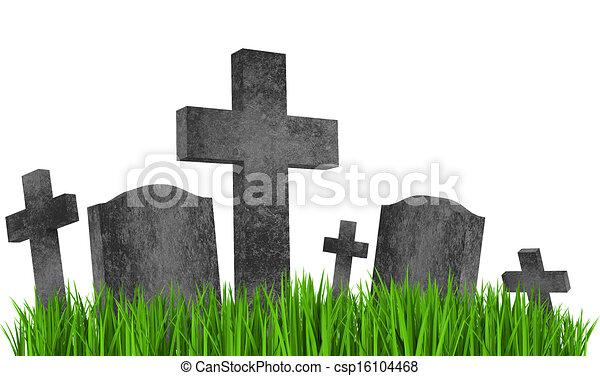 gravestones - csp16104468