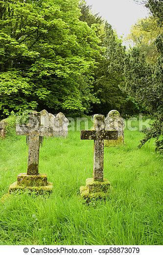 Graveyard - csp58873079