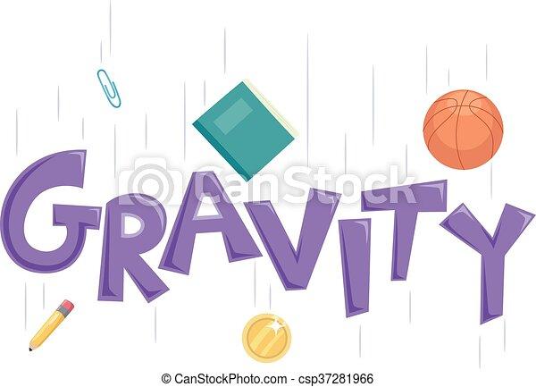 Gravity Text - csp37281966