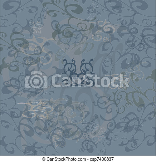 Gray abstract background - csp7400837