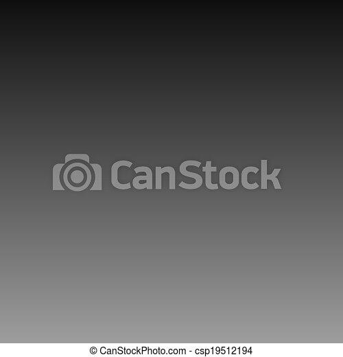Gray black gradient background - csp19512194