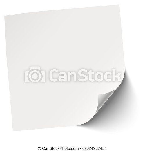 Gray Blank Memo  Note Clipart Vector  Search Illustration