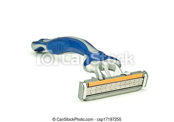 Gray-blue shaver - csp17197255