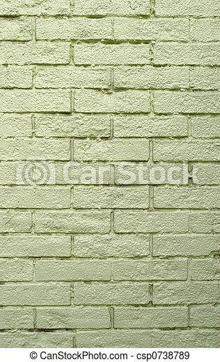 Gray Brick Wall - csp0738789