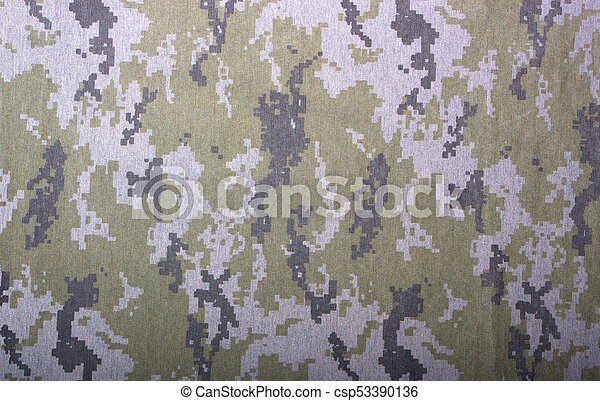 Gray Camouflage Fabric Texture Background