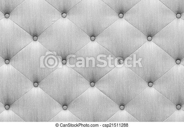 Gray Color Sofa Cloth Texture Close Up Vintage Style Gray Color