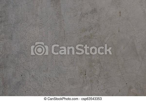 Gray concrete wall - csp63543353