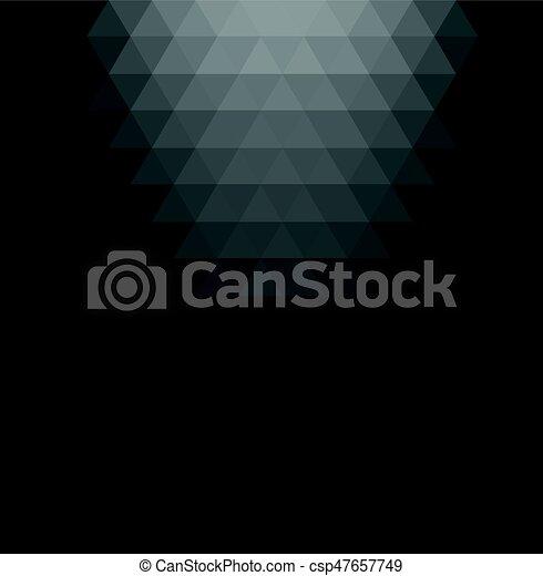 Gray Gradient Geometric Background.   Csp47657749
