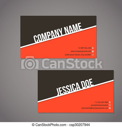 Gray green and orange color business card with white stripe gray gray green and orange color business card with white stripe csp30207944 reheart Choice Image