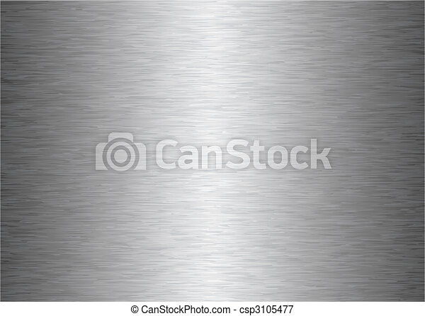 gray metal background - csp3105477