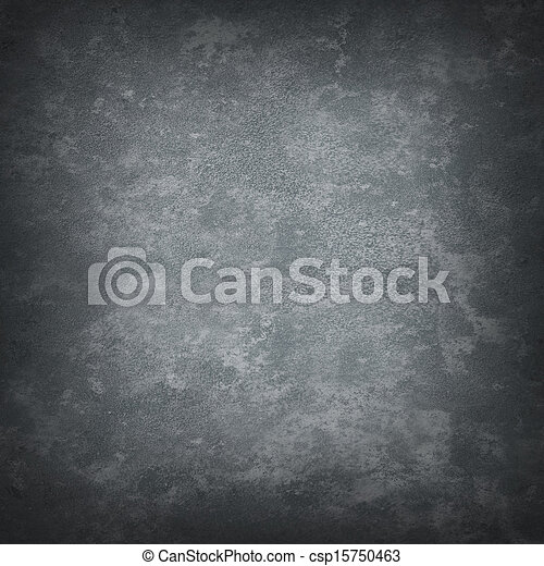 Gray mottled grungy background - csp15750463