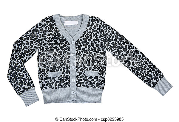 gray mottled sweater - csp8235985