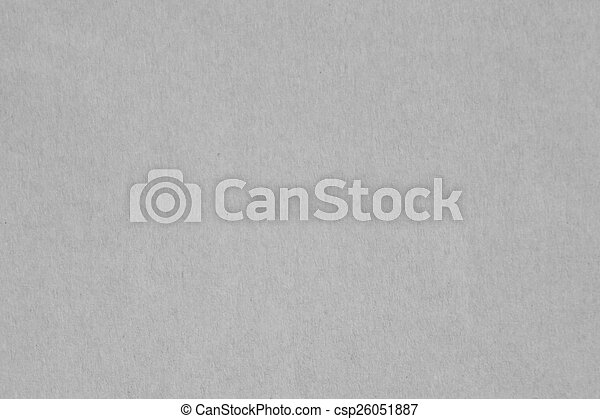 Gray Paper Texture Empty Seamless Background