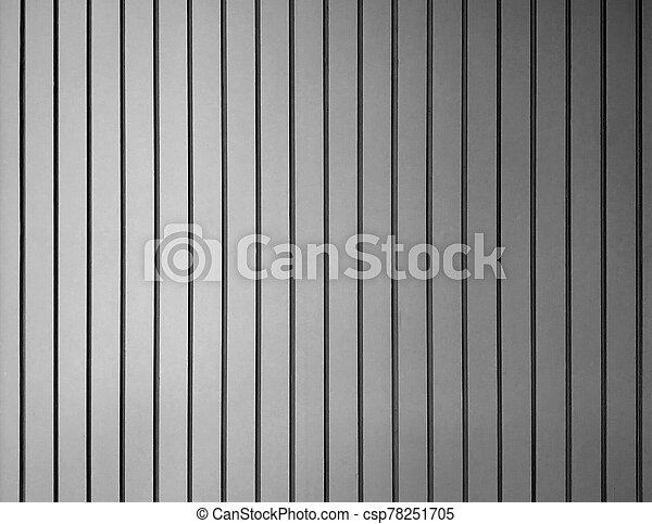 Gray stripe cement wall - black and white tone - csp78251705