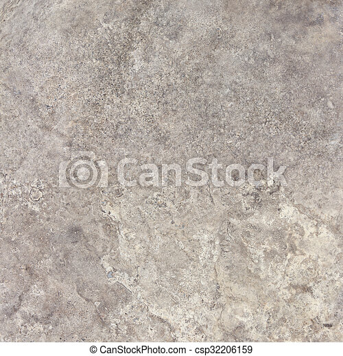 Gray travertine natural stone texture background - csp32206159