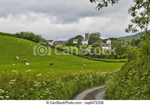 Grayrigg Village Scenic - csp6472336