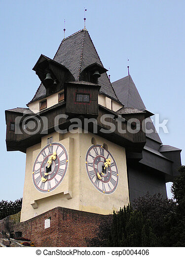 Graz Clock - csp0004406