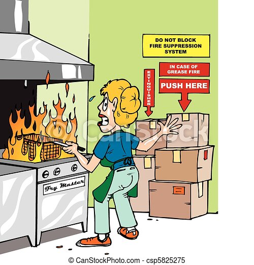 Commercial Kitchen Oven Safety