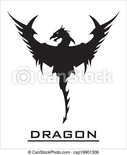 Great Black Dragon - csp19901306