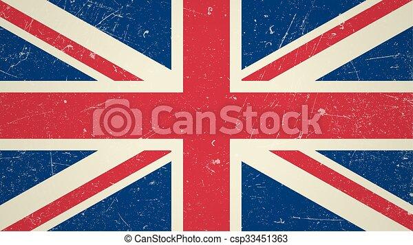 Great Britain flag - csp33451363