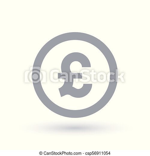 Great British Pound Symbol Britian Currency Symbol Great British