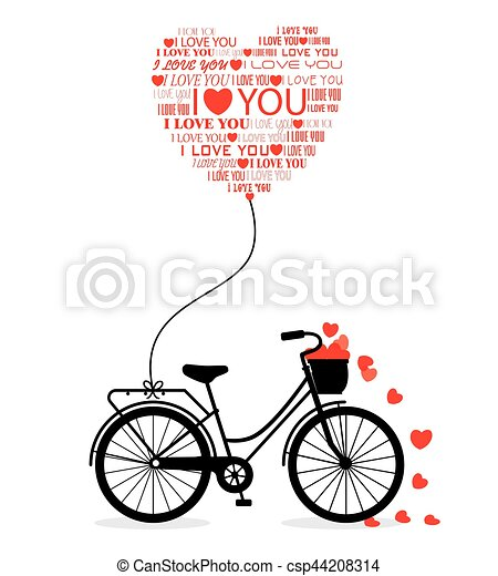 Great card for Valentine's Day - csp44208314