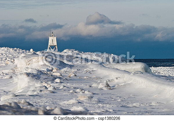 Great Lakes Lighthouse - csp1380206