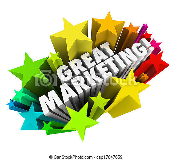 Great Marketing Words Business Advertising Promotion - csp17647659