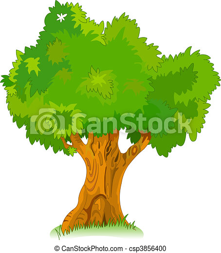 Great old tree for your design - csp3856400
