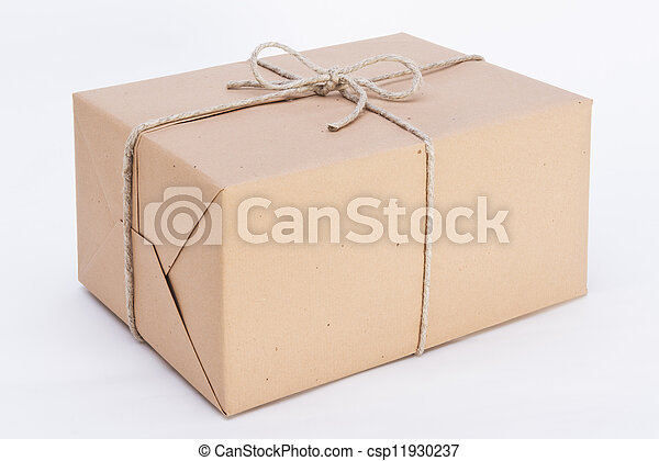 great package ready for shipment - csp11930237