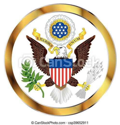 Great Seal Of America - csp39652911