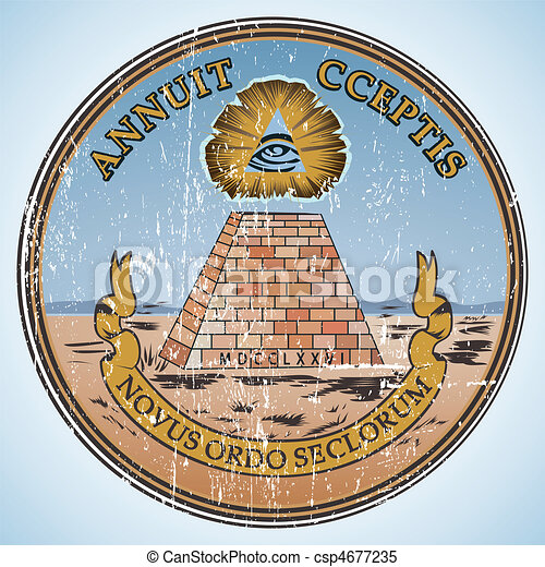 Great seal of the United States of America. - csp4677235