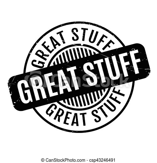 Great Stuff rubber stamp