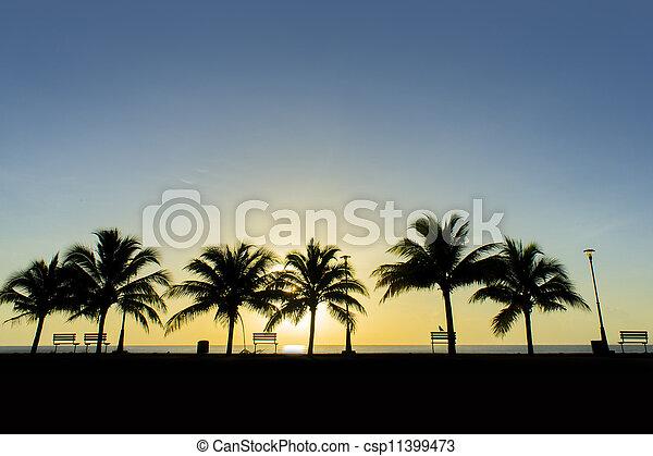 great sunrise - csp11399473