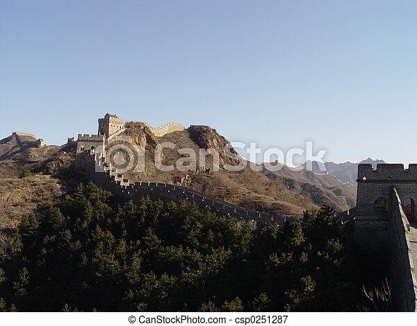 Great wall of China - csp0251287