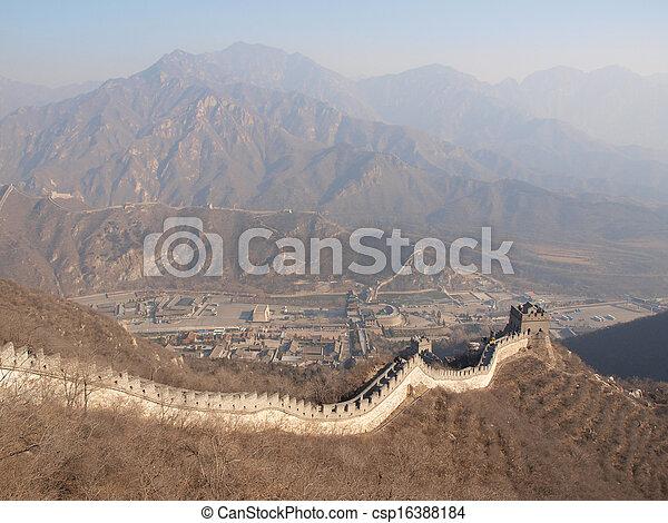 Great Wall of China - csp16388184