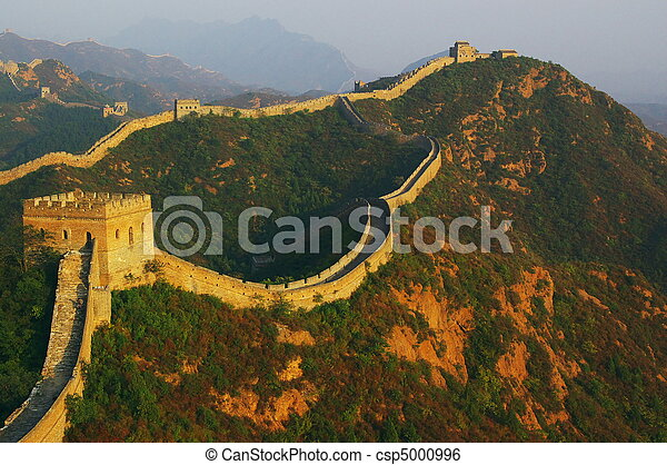 Great Wall of China - csp5000996