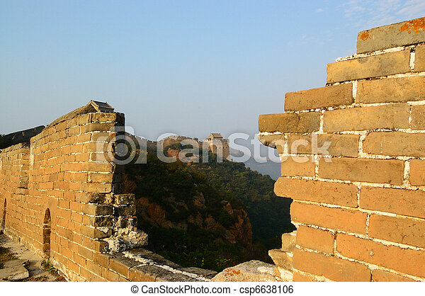 Great Wall of China - csp6638106