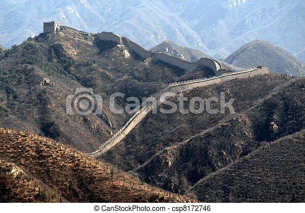 Great Wall of China - csp8172746