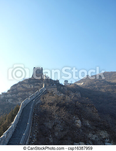 Great Wall of China - csp16387959