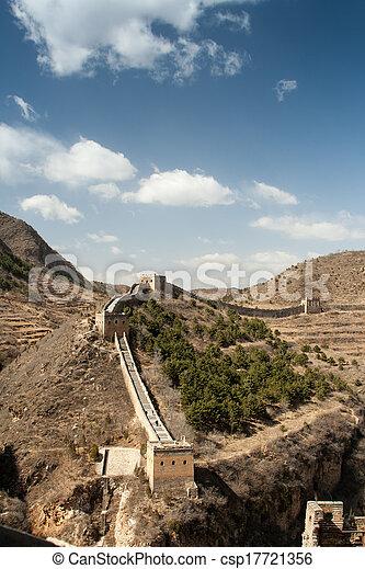 Great Wall of China - csp17721356