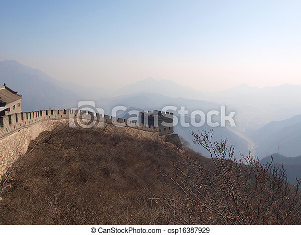 Great Wall of China - csp16387929