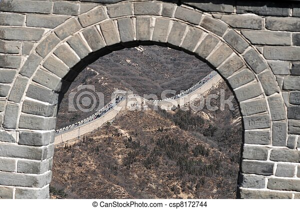 Great Wall of China - csp8172744