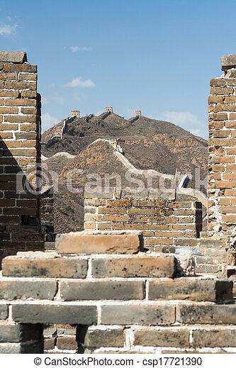 Great Wall of China - csp17721390