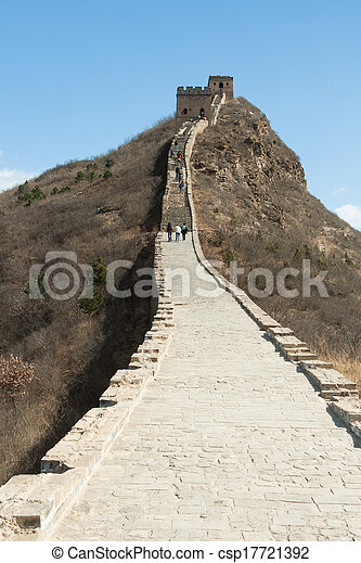 Great Wall of China - csp17721392