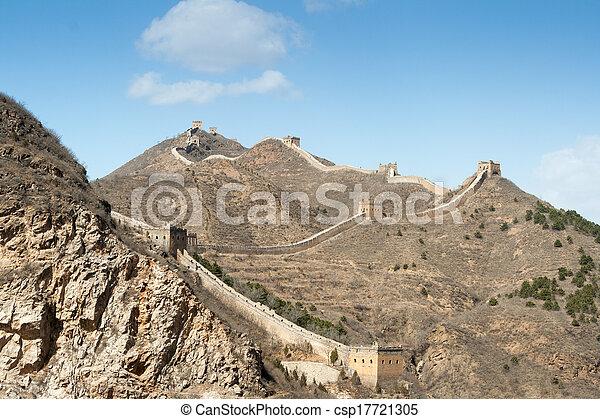 Great Wall of China - csp17721305