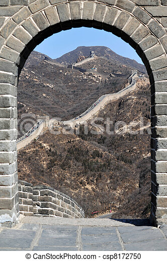 Great Wall of China - csp8172750