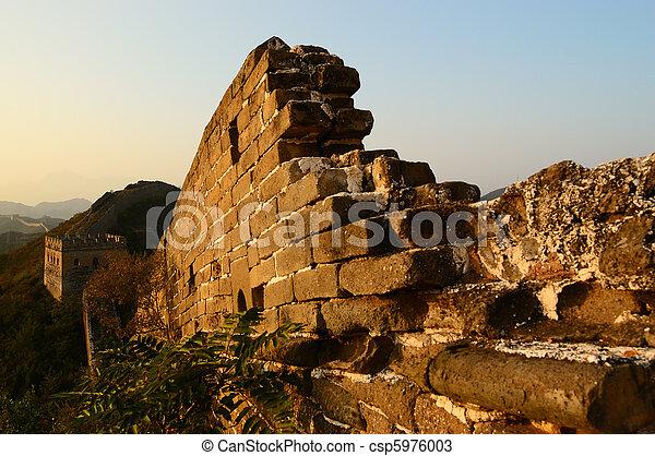 Great Wall of China - csp5976003