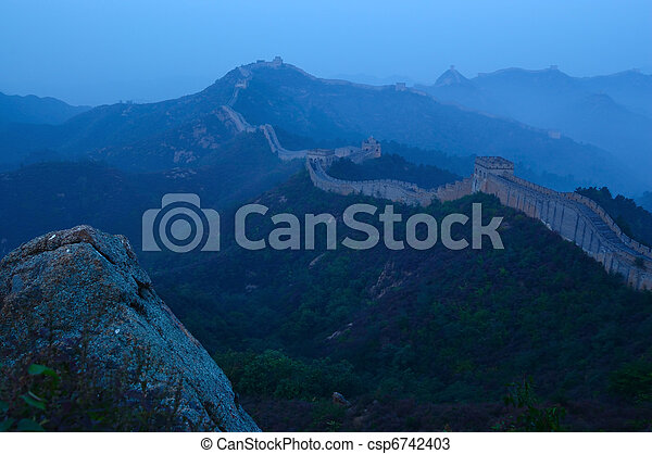 Great Wall of China - csp6742403