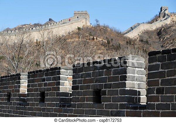 Great Wall of China - csp8172753